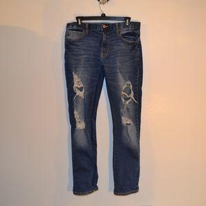 4for$25 Arizona jeans super distressed flex slim